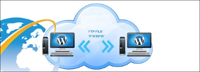 Install wordpress on your domain by using FTP