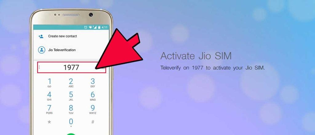 activate jio sim in 3g phone