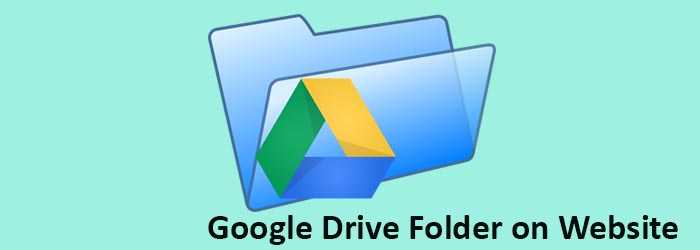 How to Embed a folder of Google Drive into a Web site
