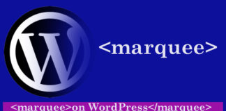 How to Create Marquee of Latest Posts in Wordpress