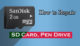 How to Repair SD Card or Pen Drive
